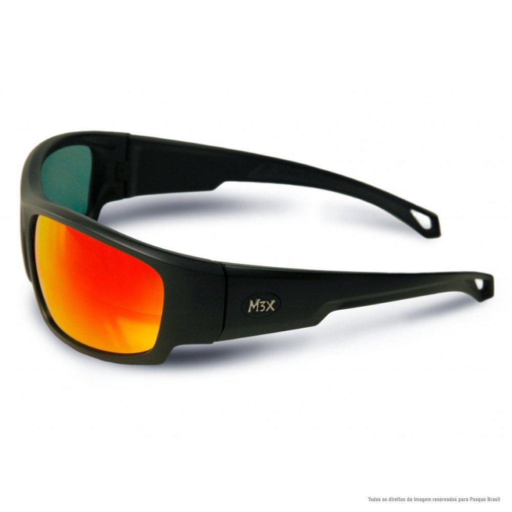 0d7b35a3137ce óculos de sol polarizado black monster 3x vermelho. Carregando zoom.