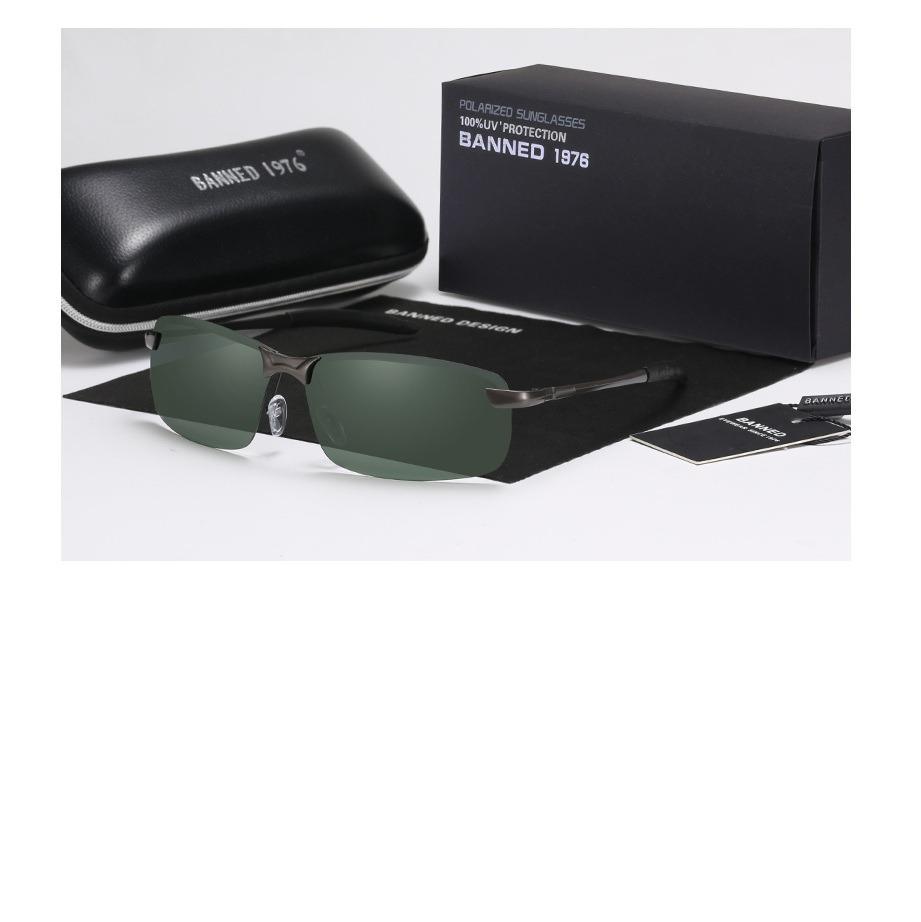 b761b726a óculos de sol polarizado clássico para homens charmosos. Carregando zoom.