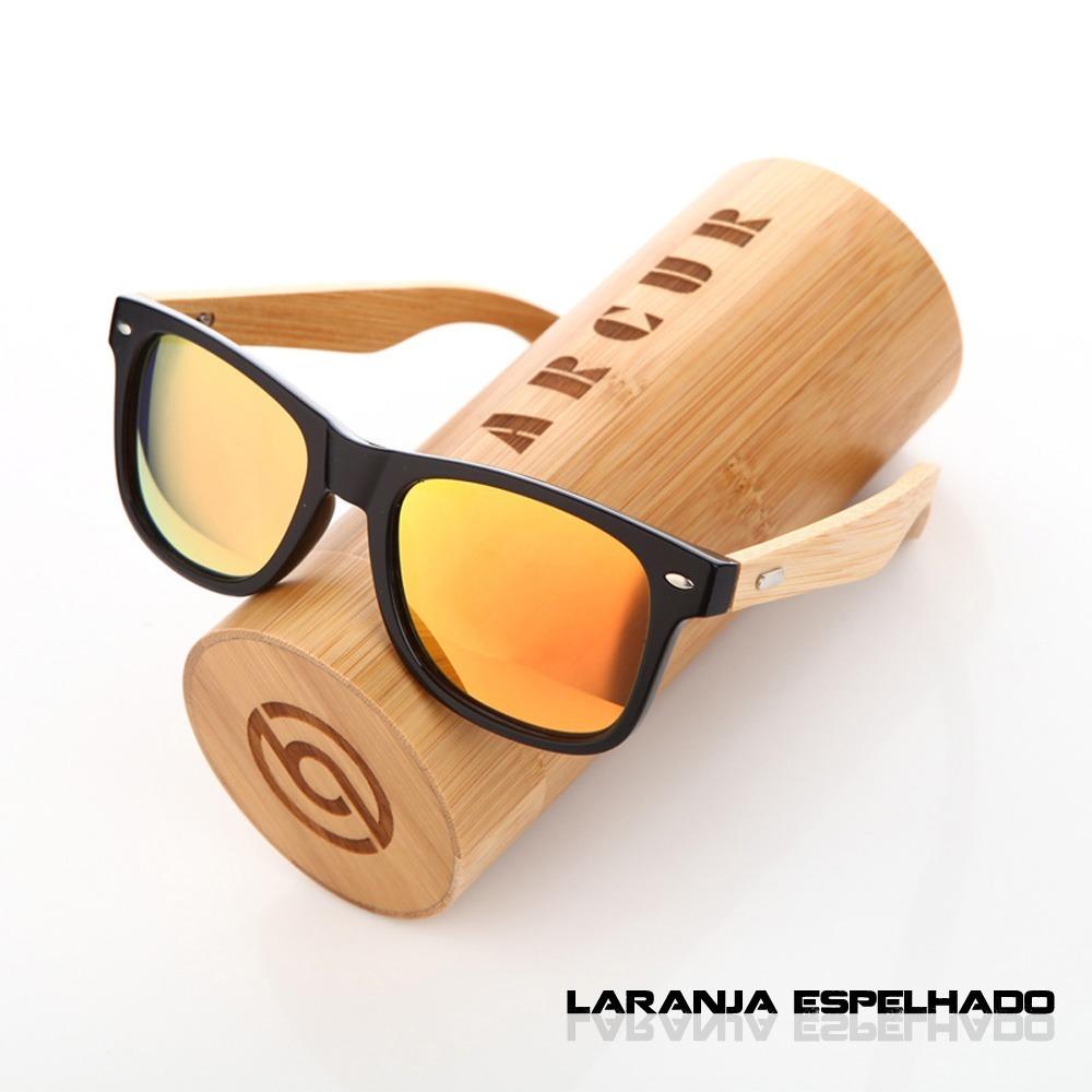 13fd4ba67f82b óculos de sol polarizado estilo bamboo stems uv400 barcur. Carregando zoom.