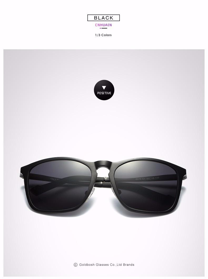 d9b61e3e9145c óculos de sol polarizado estilo retrô - lentes marron. Carregando zoom.