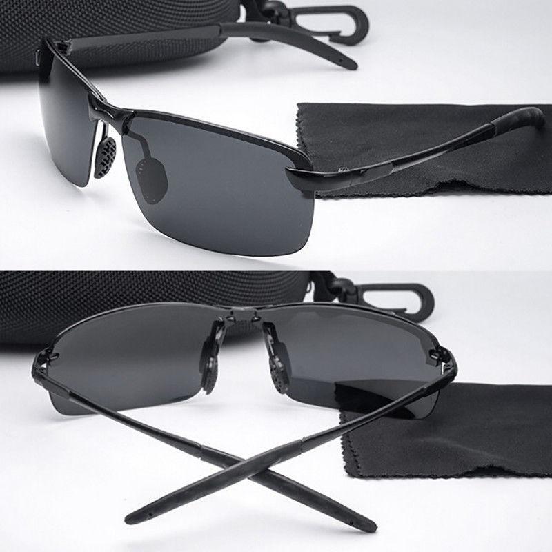 5a0eaa60e óculos-de-sol-polarizado-masculino-uv400 esporte casual. Carregando zoom.