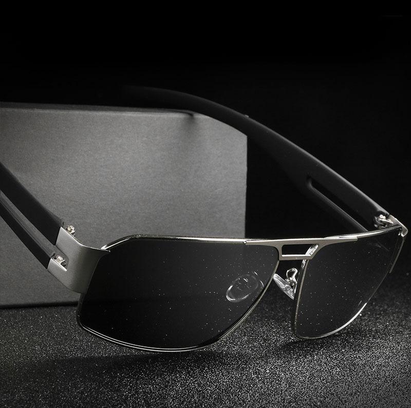óculos de sol polarizado para homens uv400 preto hdcrafter. Carregando zoom. bffab030d8