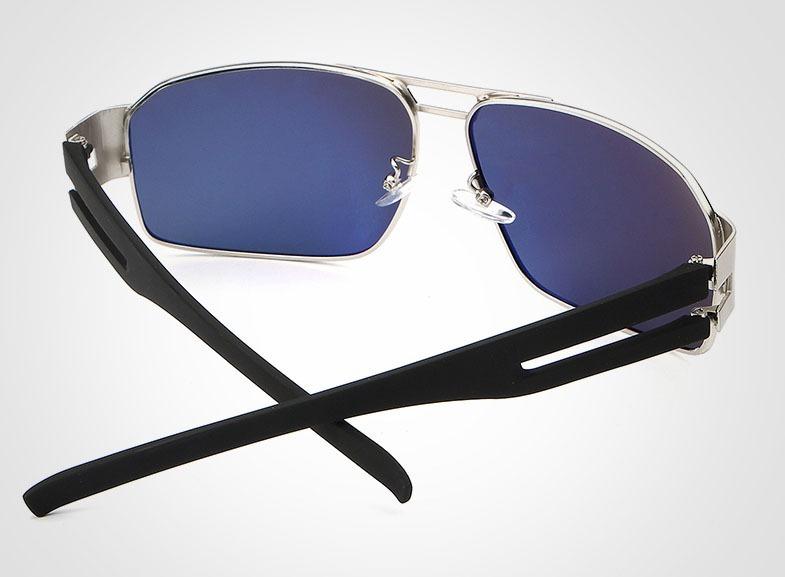 Óculos De Sol Polarizado Para Homens Uv400 Preto Hdcrafter - R  120 ... 224e050a28