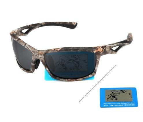38c2eb19f7355 Óculos De Sol Polarizado Pesca Ciclismo Camuflado Outsun - R  79