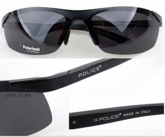 Óculos De Sol Polarizado Police Masculino 100% Uva E Uvb - R  129,90 ... 082d28c218
