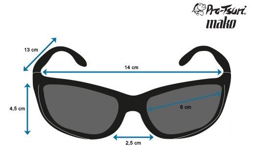 690557d414d14 Óculos De Sol Polarizado Pro-tsuri Mako Lente Âmbar - R  79