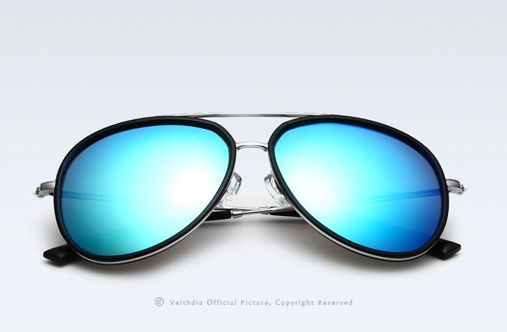 Óculos De Sol Polarizado Uv400 Veithdia Mod 2725 Pta Entrega - R ... 892f1f56ee