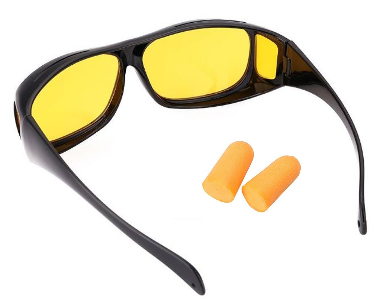 Oculos De Sol Polarizado Visão Noturna P  Dirigir A Noite - R  29,49 ... d5b5b79eed