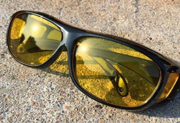 2bd8600b7b45c Oculos De Sol Polarizado Visão Noturna P  Dirigir A Noite - R  29