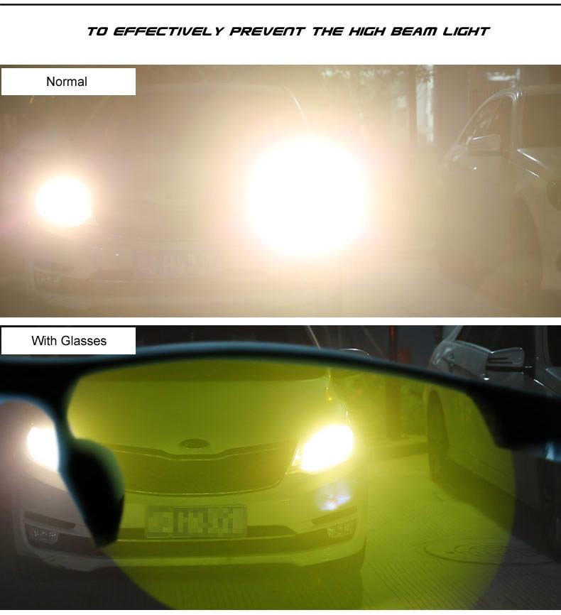 Oculos De Sol Polarizado Visão Noturna P  Dirigir A Noite Ve - R  80 ... ff5486671b