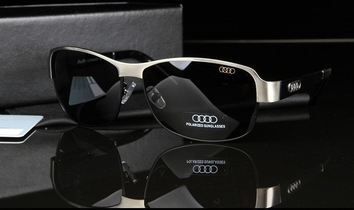 920be5923541b Óculos De Sol Polarizados Masculino Audi Com 100% Uva E Uvb - R  139,90 em  Mercado Livre