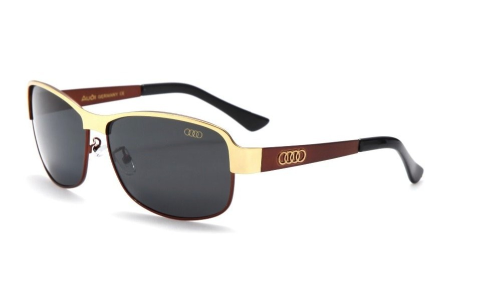 ce9893dac3ce9 óculos de sol polarizados masculino audi com 100% uva e uvb. Carregando  zoom.