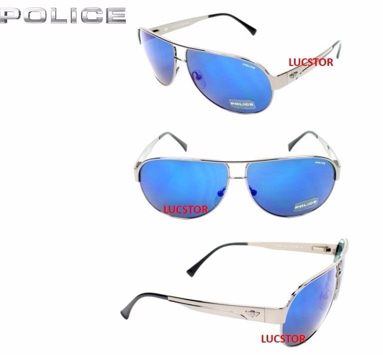 7b4024fa133e3 Oculos De Sol Police S8511-c568b Frete Gratis - R  438