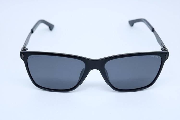 9a6a43813c256 Óculos De Sol Police Spl365 Col Z42p Preto - R  646