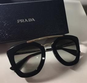 f5e697140 Oculos De Sol Prada Redondo Cinema Usado no Mercado Livre Brasil