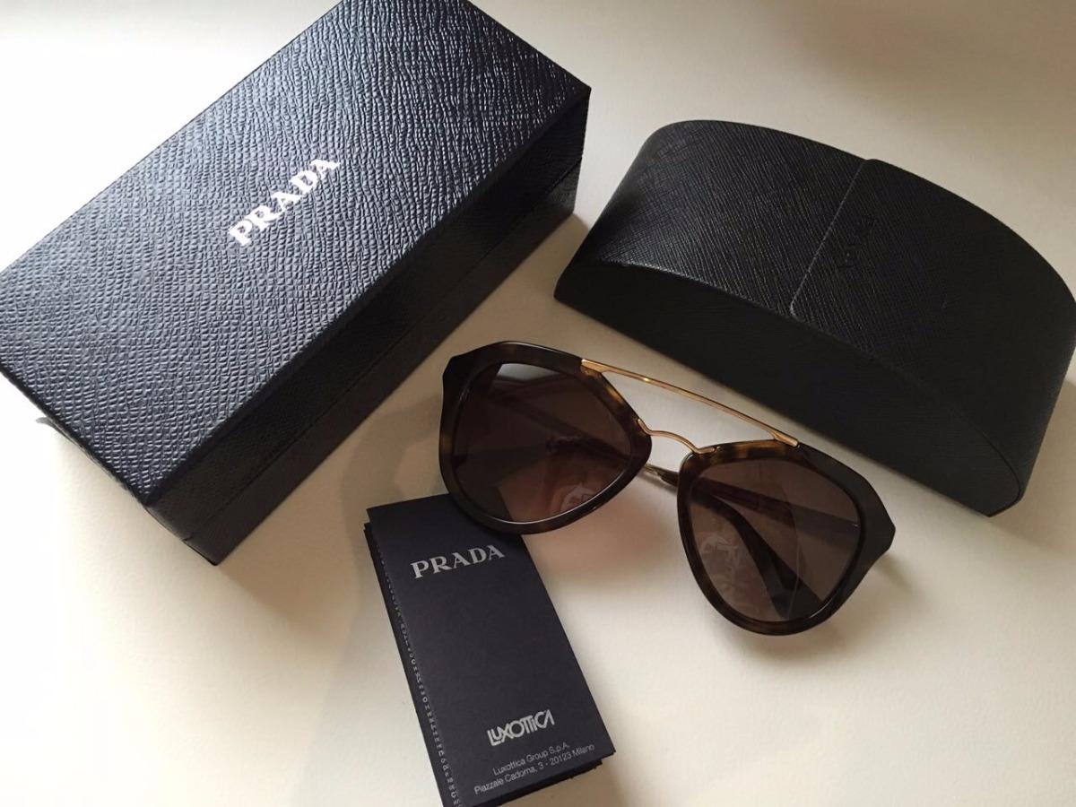 6b92fcdf8 Óculos De Sol Prada Acetato Feminino - R$ 689,99 em Mercado Livre
