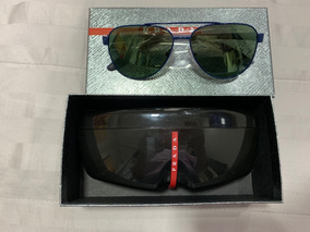 45abf5a86 Oculos Prada Azul no Mercado Livre Brasil