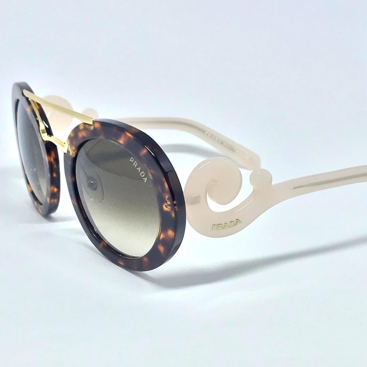 Óculos De Sol Prada Baroque Pr13ss Brown Pink - R  550,00 em Mercado ... 98f51d0c96