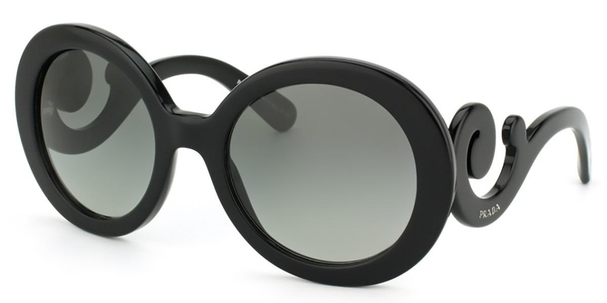 2a4e08a0b Óculos De Sol Prada Baroque Spr27n 1ab-3m1 - R$ 918,00 em Mercado Livre