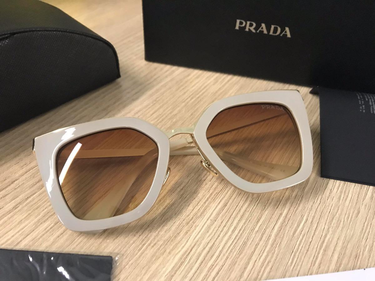 Óculos De Sol Prada Cinéma Evolution 53ss Nude - R  349,99 em ... d8656ea07a