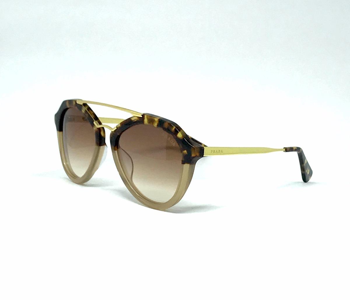 799c9f2e9 Óculos De Sol Prada Cinema Pr12qs Marron Havana - R$ 540,00 em ...