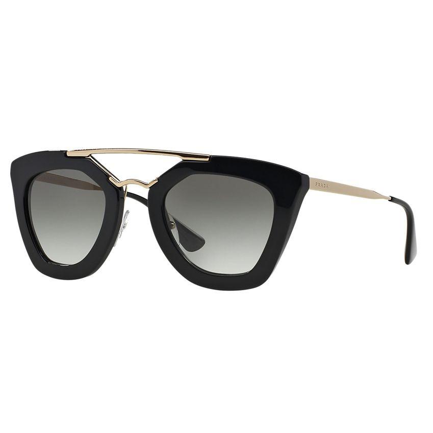 df7c6a4e133be óculos de sol prada cinema sunglasses feminino preto dourado. Carregando  zoom.