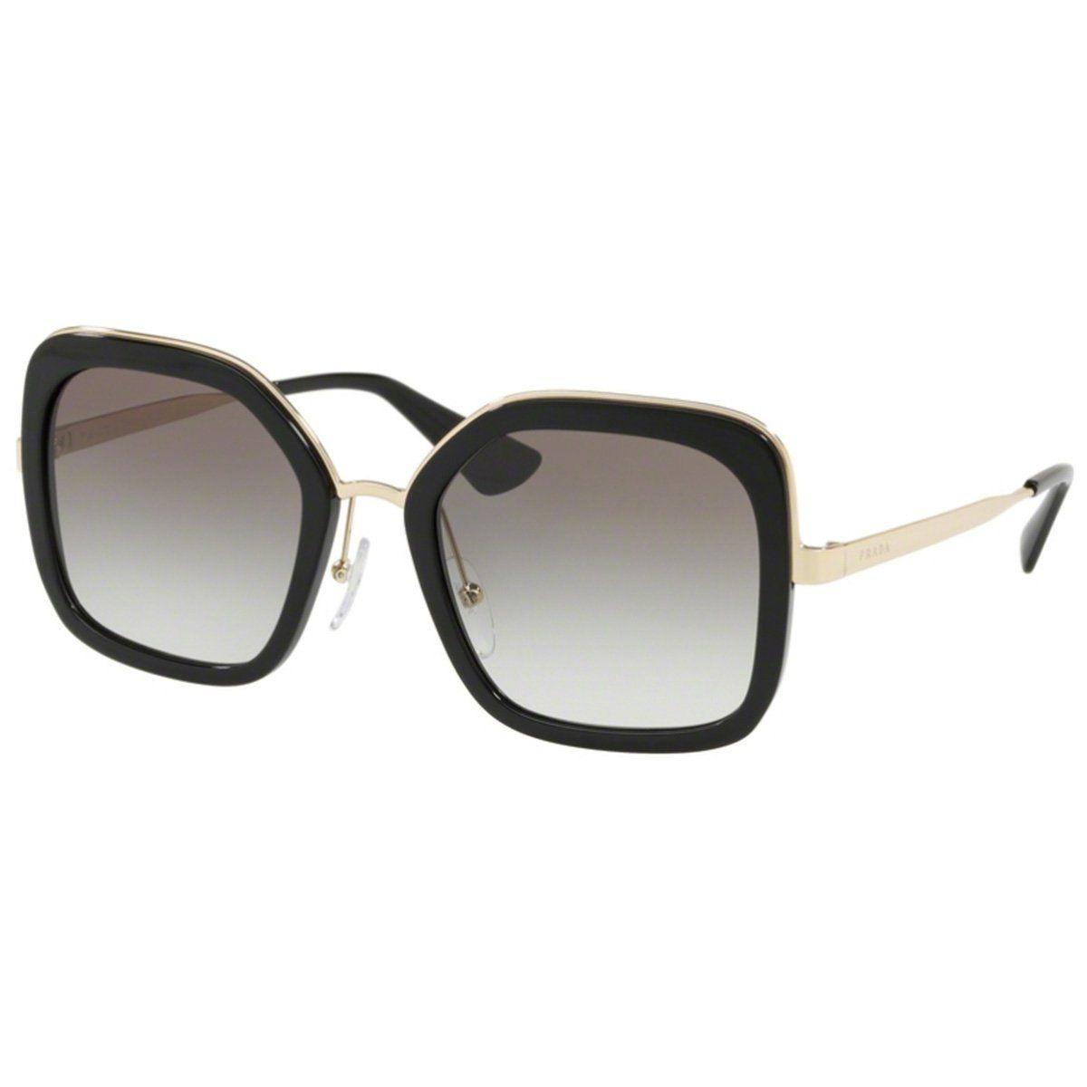 3148c95473dbb Óculos De Sol Prada Feminino Spr57u 1ab-0a7 - R  959,00 em Mercado Livre