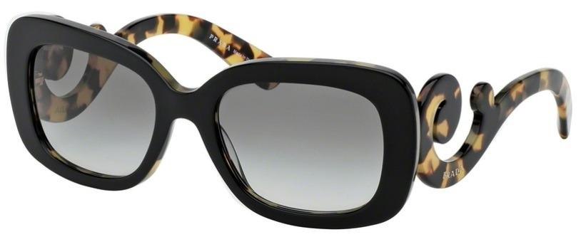 d3c1ea76a836f óculos de sol prada minimal baroque 27os preto tartaruga. Carregando zoom.