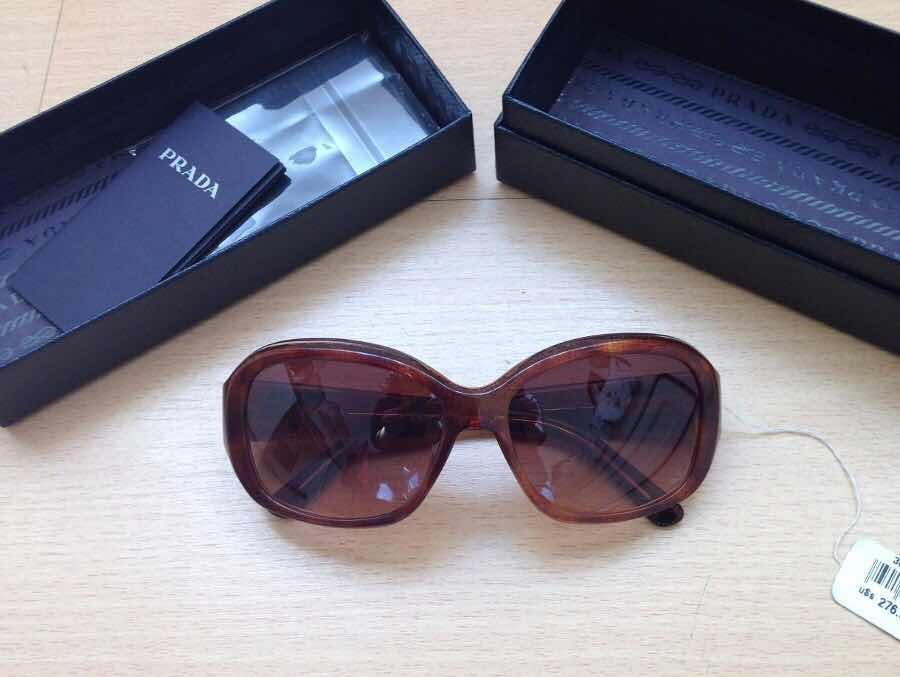 18ebc39ce Óculos De Sol Prada Original Novo - R$ 800,00 em Mercado Livre