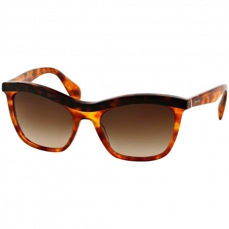 91a422bab4954 Óculos De Sol Prada Pr19ps Nak6s1 Marrom Tartaruga Degrade - R ...