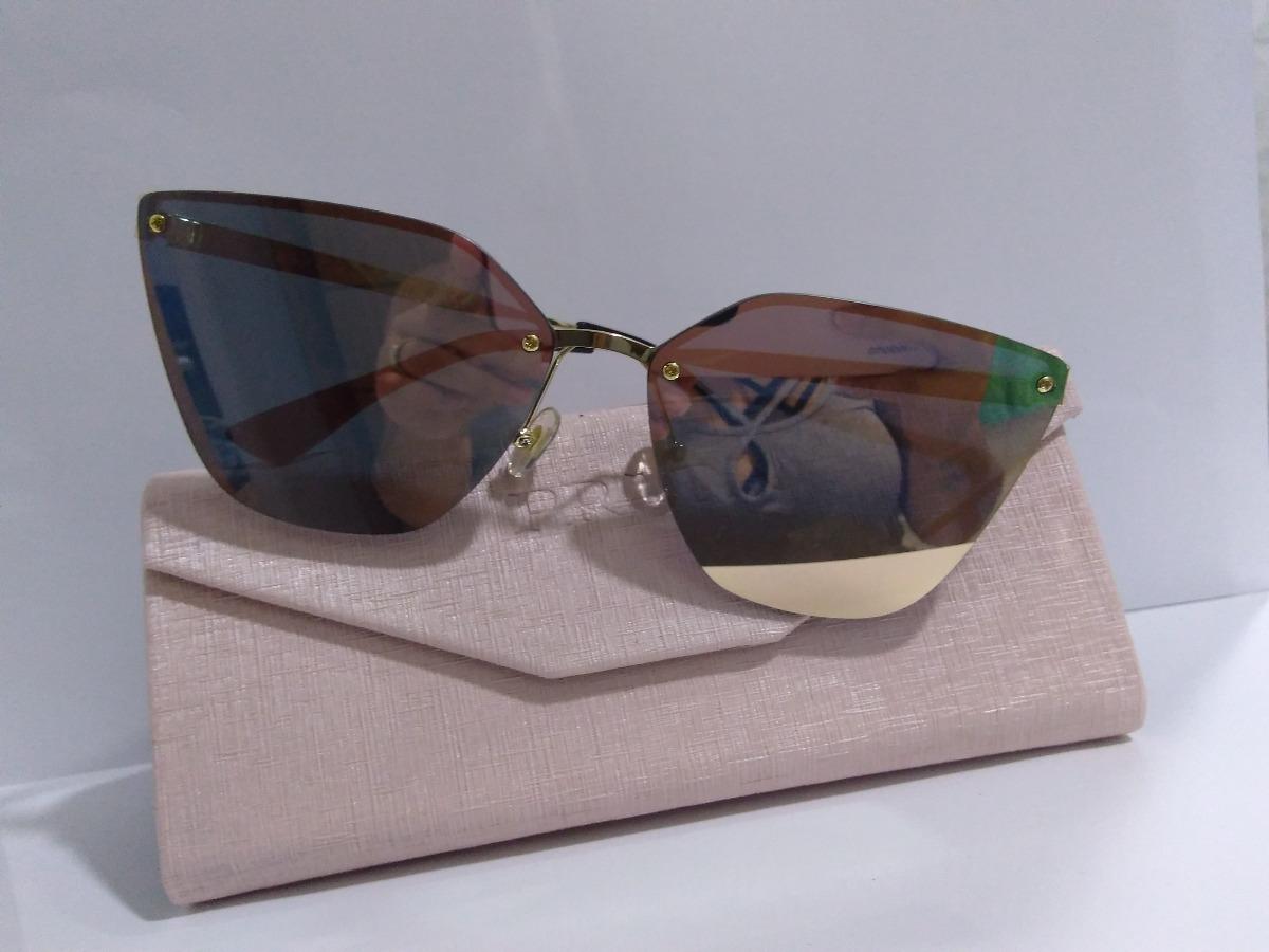 097eed08e oculos de sol prada rosa espelhado pr68ts lançamento feminin. Carregando  zoom.