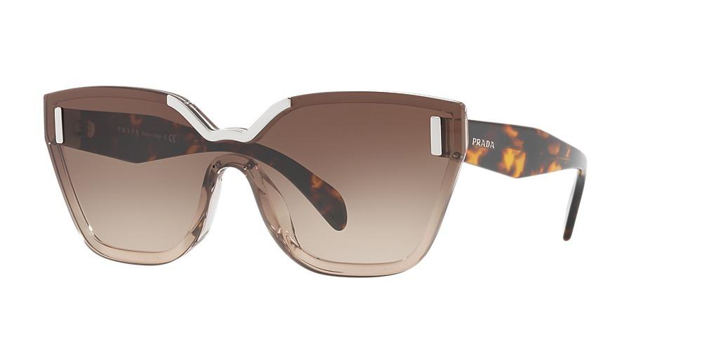 d793329eb Óculos De Sol Prada Spr 16t Viq-6s1 Marrom Original - R$ 1.559,00 em ...