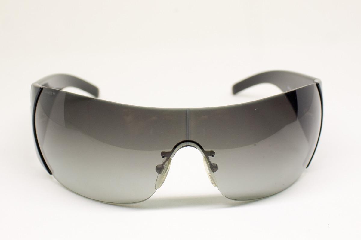 905affdfb88a9 Oculos De Sol Prada Spr16h Preto Mascara Original - R  798