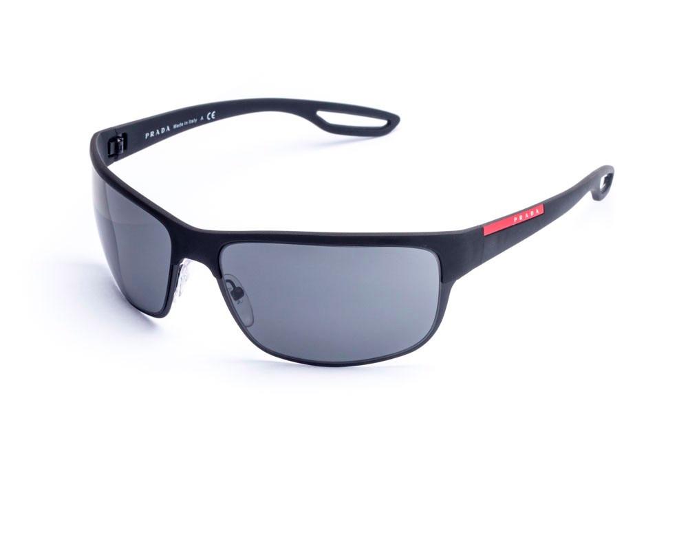 8adc571717aa1 Oculos De Sol Prada Sps 50q 1a1 Preto - R  589