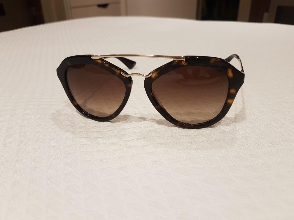 3501490c4 Óculos De Sol Prada Tartaruga/marrom - R$ 450,00 em Mercado Livre