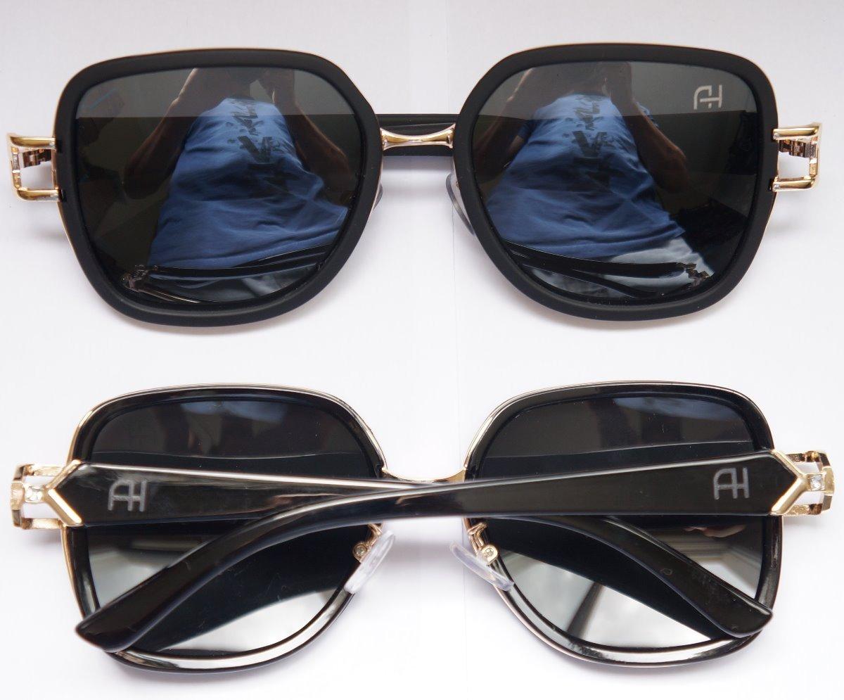 Óculos De Sol Preto Ana Hickmann Feminino Acetato Uvb - R  45,80 em ... 3b702d1362