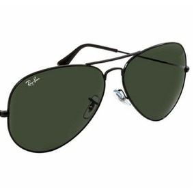 4315dd495 Ray Ban Aviador Preto 62 - Óculos De Sol no Mercado Livre Brasil