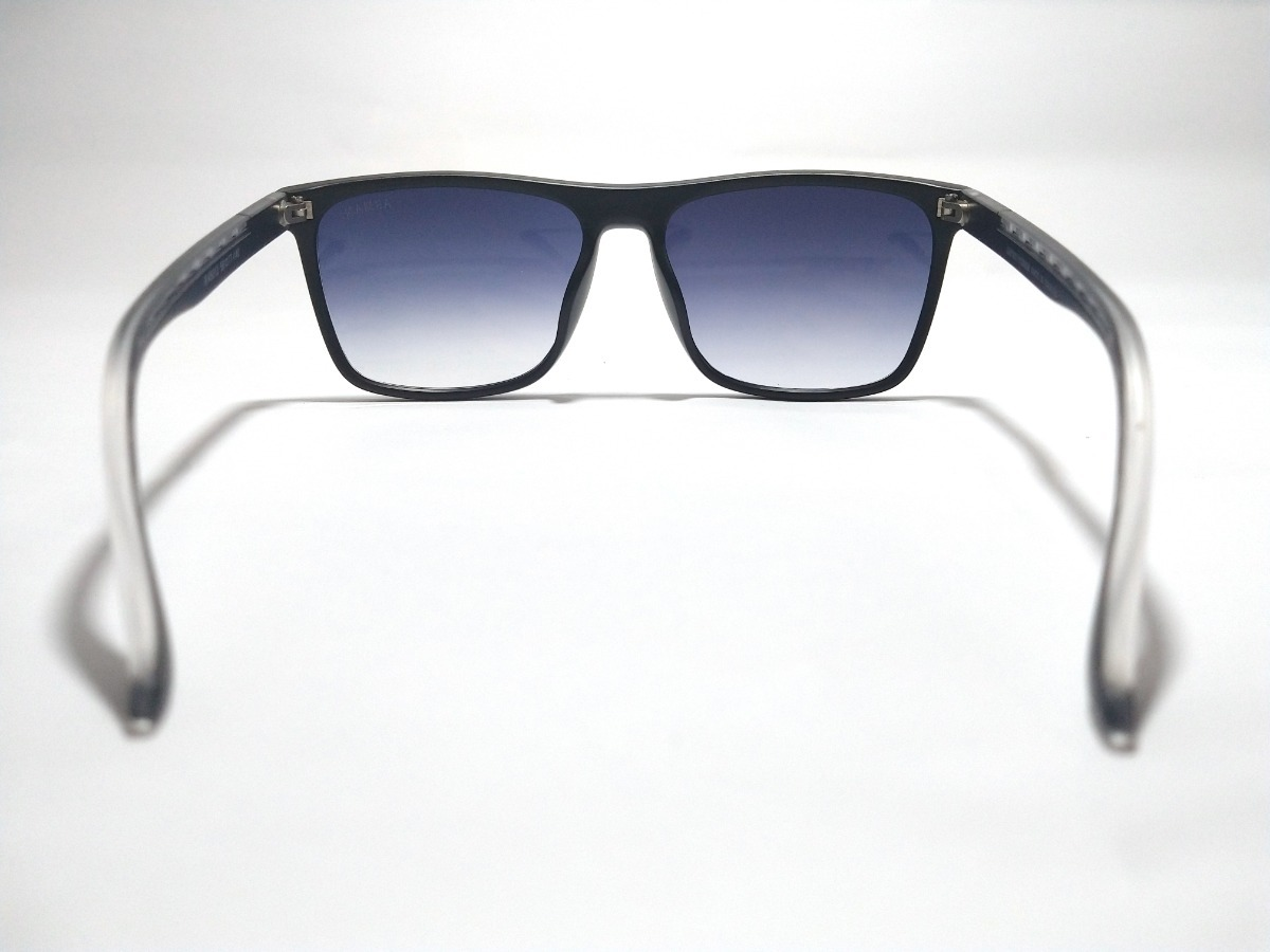 bfff5ae97 óculos de sol preto degradê azul empório armani ea 5012. Carregando zoom.
