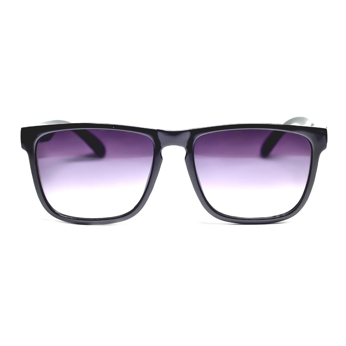ccc9c91d1 oculos de sol preto lente degrade uv400 quadrado resistente. Carregando zoom .