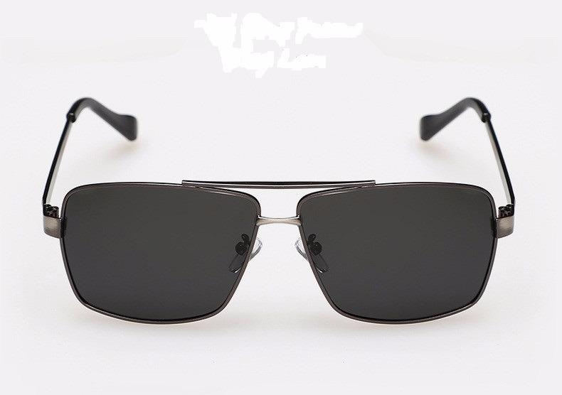3546795d1 Óculos De Sol Preto Proteção Uv Homem Aço Inoxidável Luxo - R$ 73,92 ...