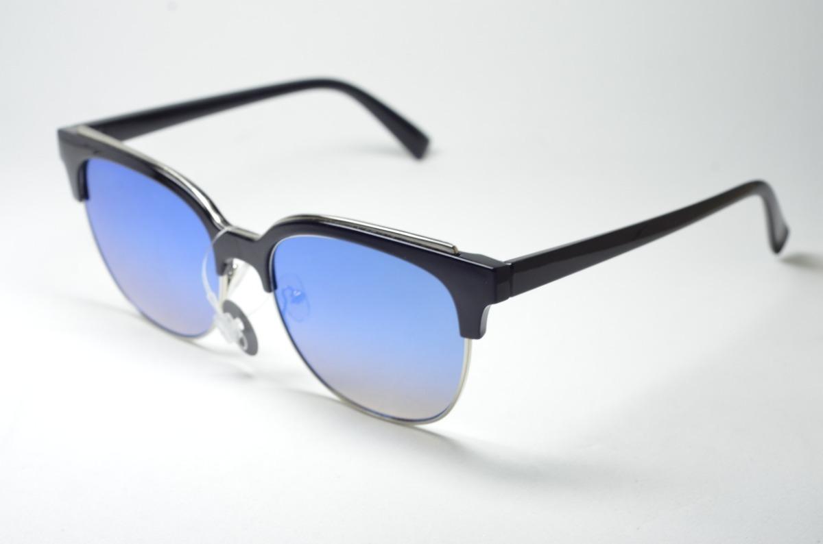 6c6ad5907 óculos de sol preto redondo proteção uv400 moda feminina. Carregando zoom.