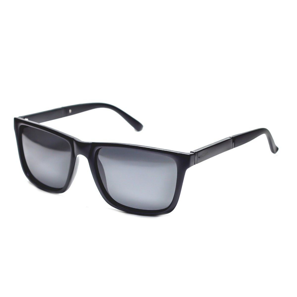 0f858c84b oculos de sol preto unisex quadrado esportivo lente g15. Carregando zoom.