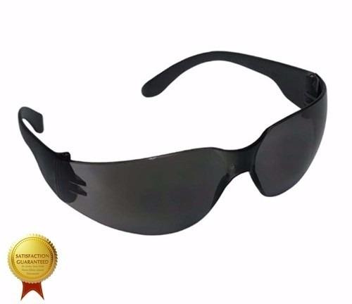 Oculos De Sol Proteção Segurança Fume Escuro Preto Epi 12un - R  69 ... 43c73b890a