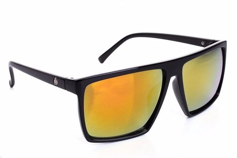 óculos de sol quadrado griff cranio preto masculino feminino. Carregando  zoom. 45c05940a3
