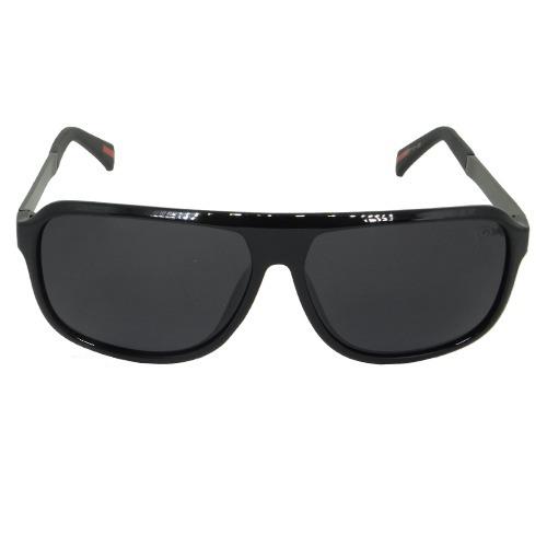 Óculos De Sol Quadrado Preto Geror 02484 Desconto 30% - R  140,00 em ... fc99ea120c