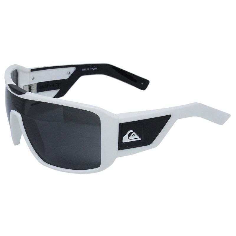 Óculos De Sol Quiksilver Mackin White Black - R  189,00 em Mercado Livre 5295d846fd