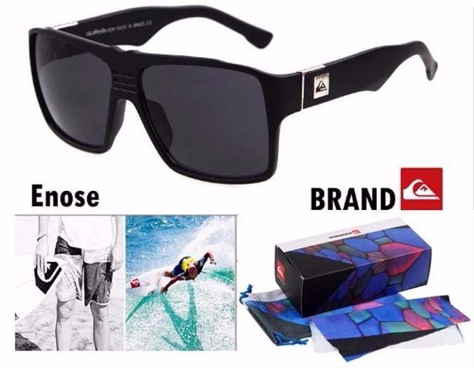 b86659b538682 Óculos De Sol Quiksilver Masculino Proteção Uv400 Enose - R  99