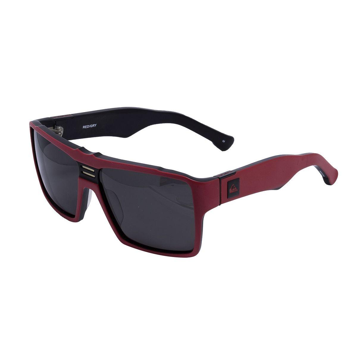 05714d48420c1 óculos de sol quiksilver original enose qs1143 red gry. Carregando zoom.