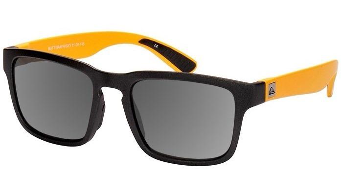 Óculos De Sol Quiksilver Stanford Preto amarelo Troca Haste - R  449,00 em  Mercado Livre 496957be60