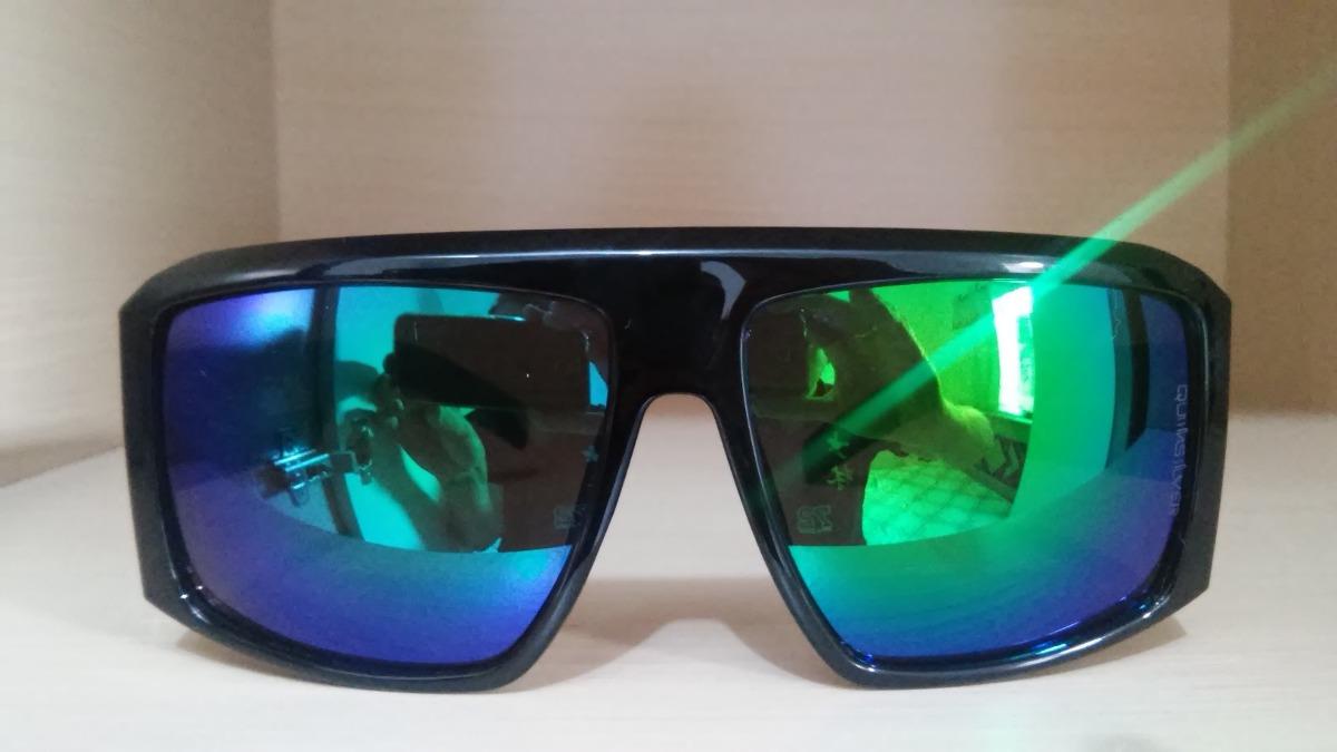 óculos de sol quiksilver the empire black touch verde roxo. Carregando zoom. c21c92154c